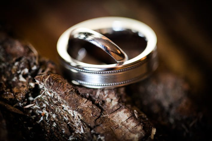 bride and grooms rings